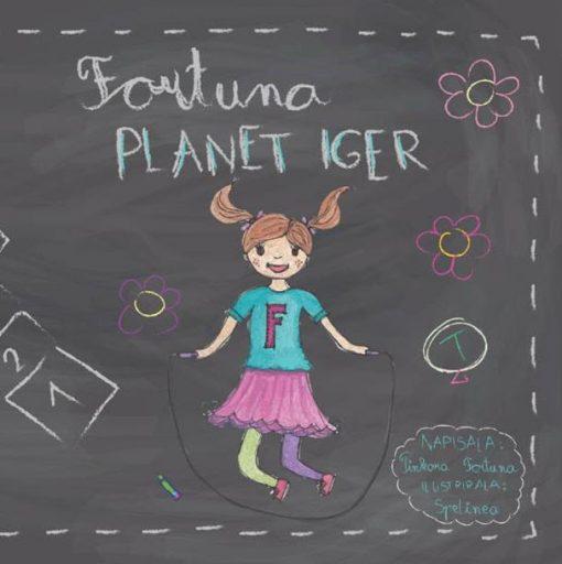 Naslovnica knjige FORTUNA Planet iger